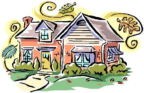 Bungalow clipart inside house Settings clip clip for art