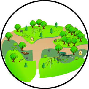 Country clipart public park Art Library Cliparts Setting Clip