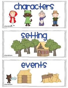 Town clipart story setting #3