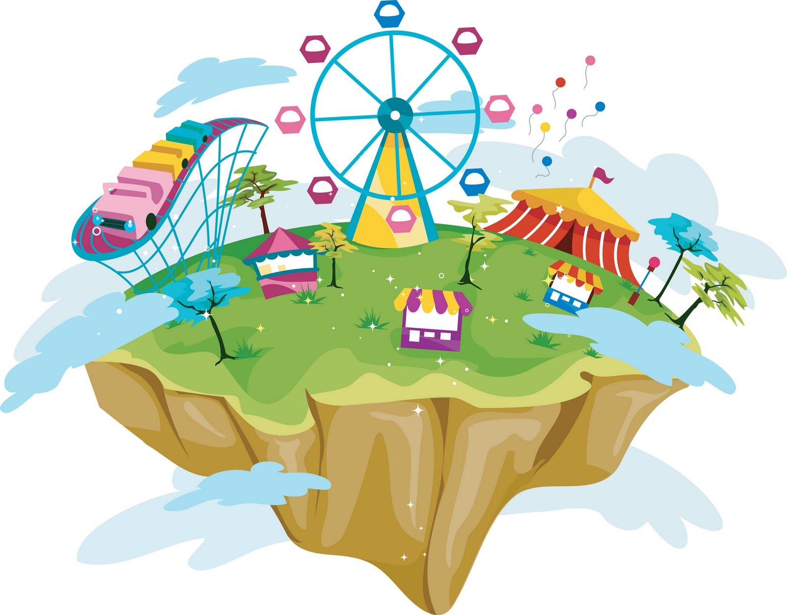 Amusement Park clipart theme park Art Clip on Art Clipart