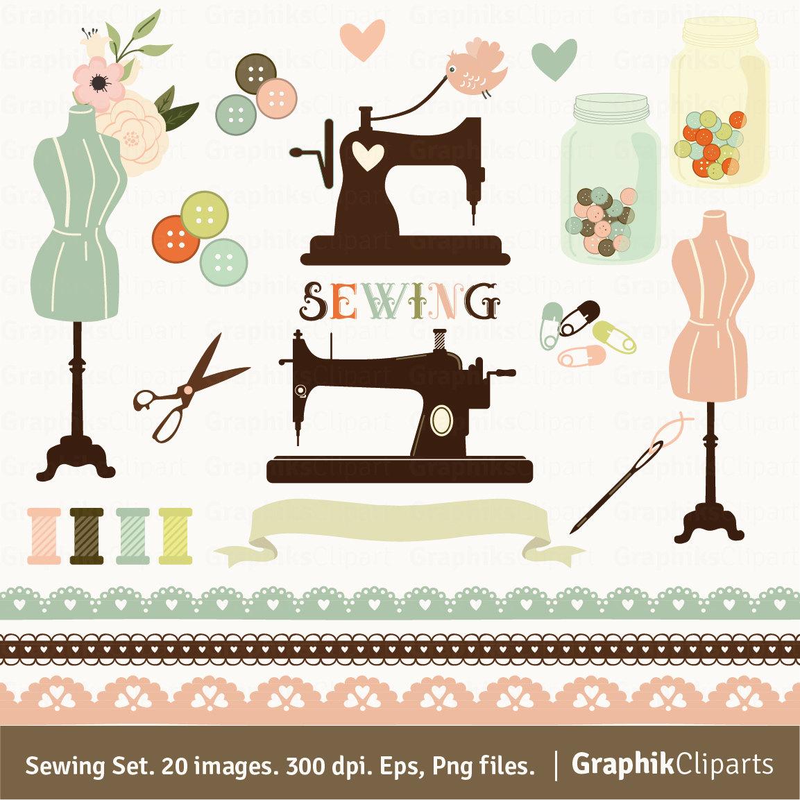 Sewing Machine clipart craft #15