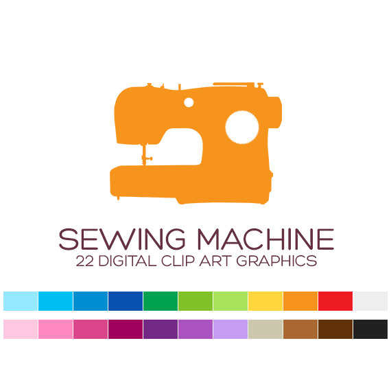 Sewing Machine clipart craft #14