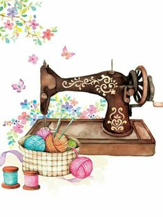 Sewing Machine clipart craft #13