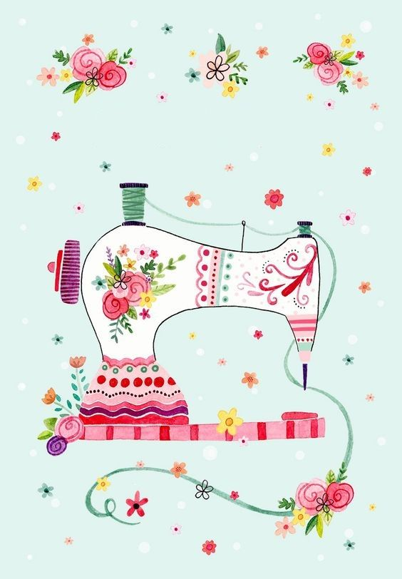 Sewing Machine clipart day #10