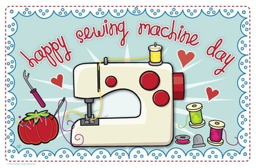 Sewing Machine clipart day #7