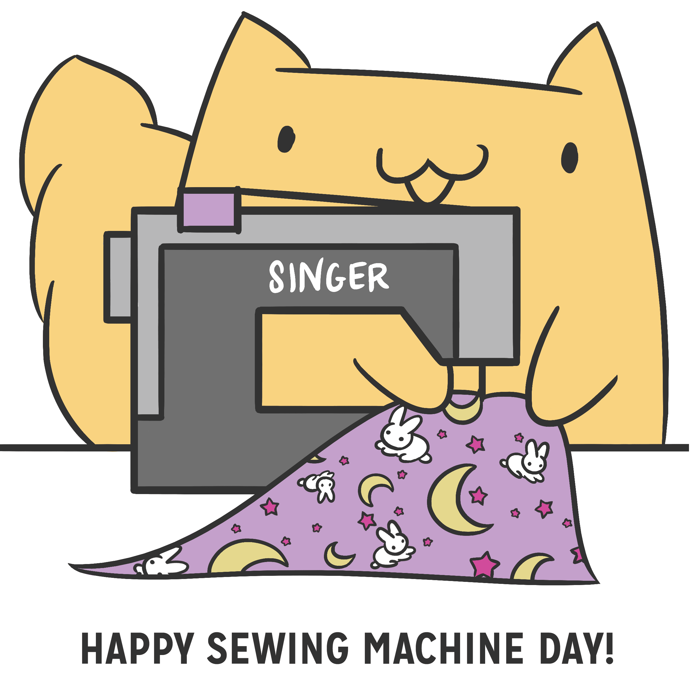 Sewing Machine clipart day #6