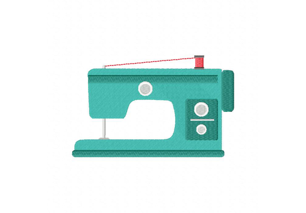 Sewing Machine clipart embroidery machine #12
