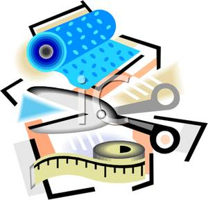 Sewing Machine clipart fabric roll #2