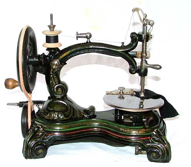 Sewing Machine clipart steampunk #4