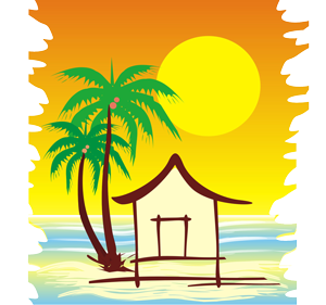 Shack clipart river Best with great food at