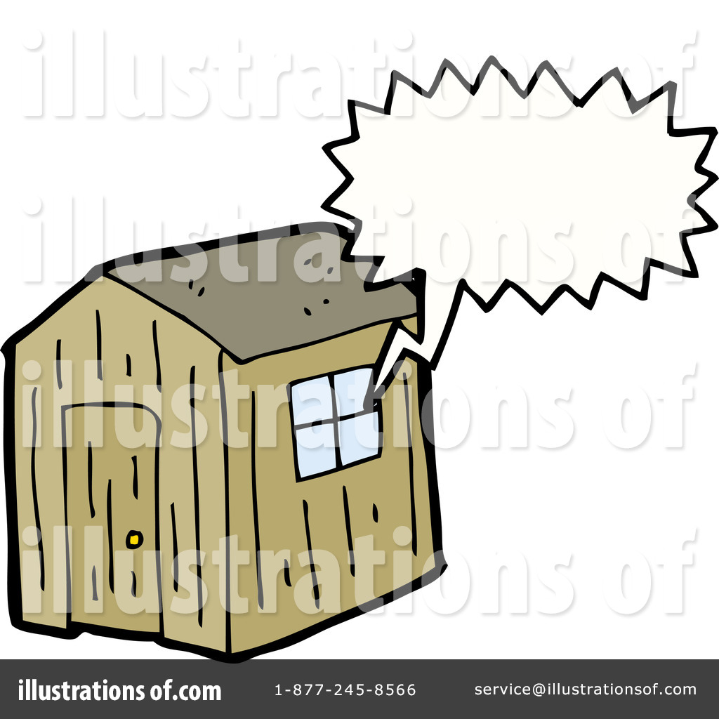 Shack clipart different house Royalty #1174141 lineartestpilot (RF) Illustration