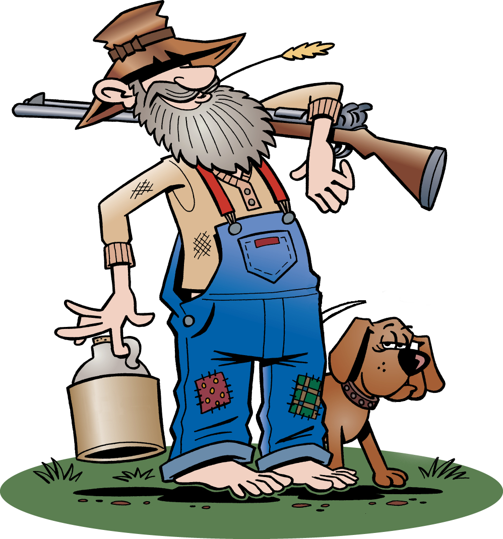 Shack clipart river Clipart Hillbilly Cartoon cliparts Hillbilly