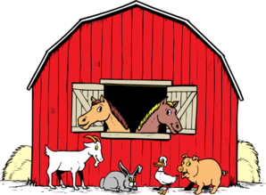 Shack clipart horse house At clip com online free