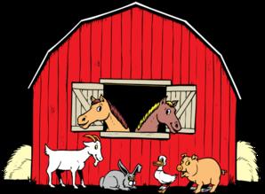 Shack clipart horse house Vector clip com free royalty