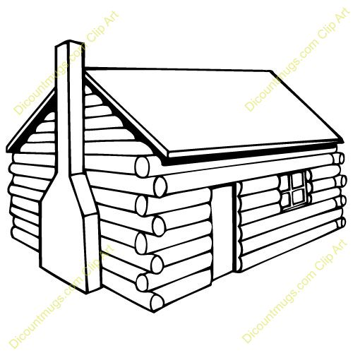 Shack clipart river Cabin on Pinterest Clip Art