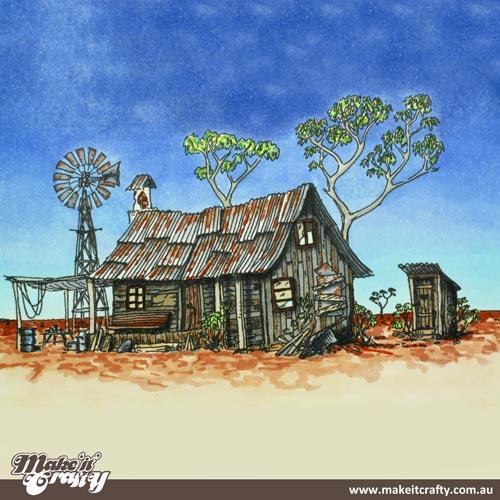 Shack clipart outback Digital Outback Aussie Blog Shack