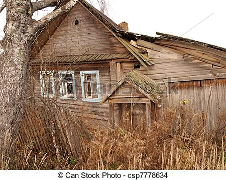 Shack clipart ramshackle Csp7778634 House ramshackle Old Photo