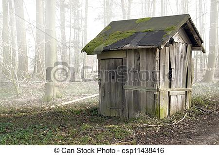 Shack clipart ramshackle Old shack  Stock includinga