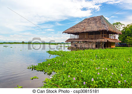 Shack clipart river Shack the wooden  Amazon
