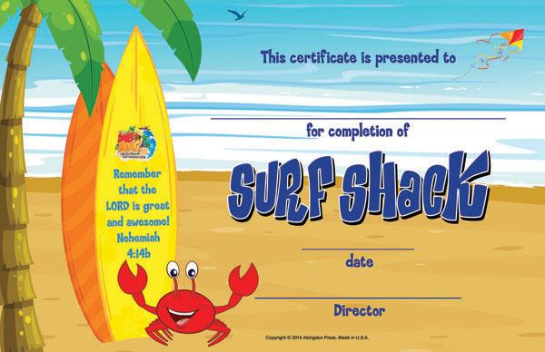 Shack clipart surf shack Certificates 50) Student (Pkg View