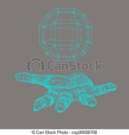 Shadow clipart arm Ball hand sphere the