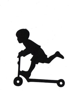 Shadow clipart excited kid #12