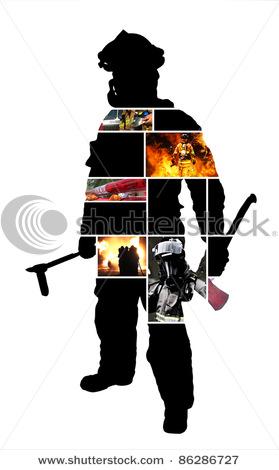 Shadow clipart fireman – Art images Fireman free
