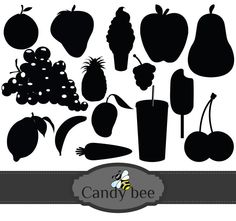 Shadow clipart fruit #13