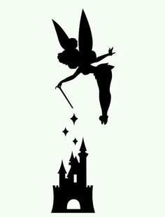 Shadow clipart tinkerbell Free Printables Clipart Bell