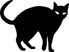 Shadows clipart black cat Patterns Cross Stitch Templates more