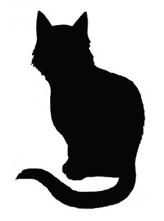 Shadows clipart black cat Spooky Discussion on ClipArt idea