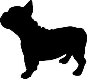 Shadows clipart bulldog French and silhouette Google