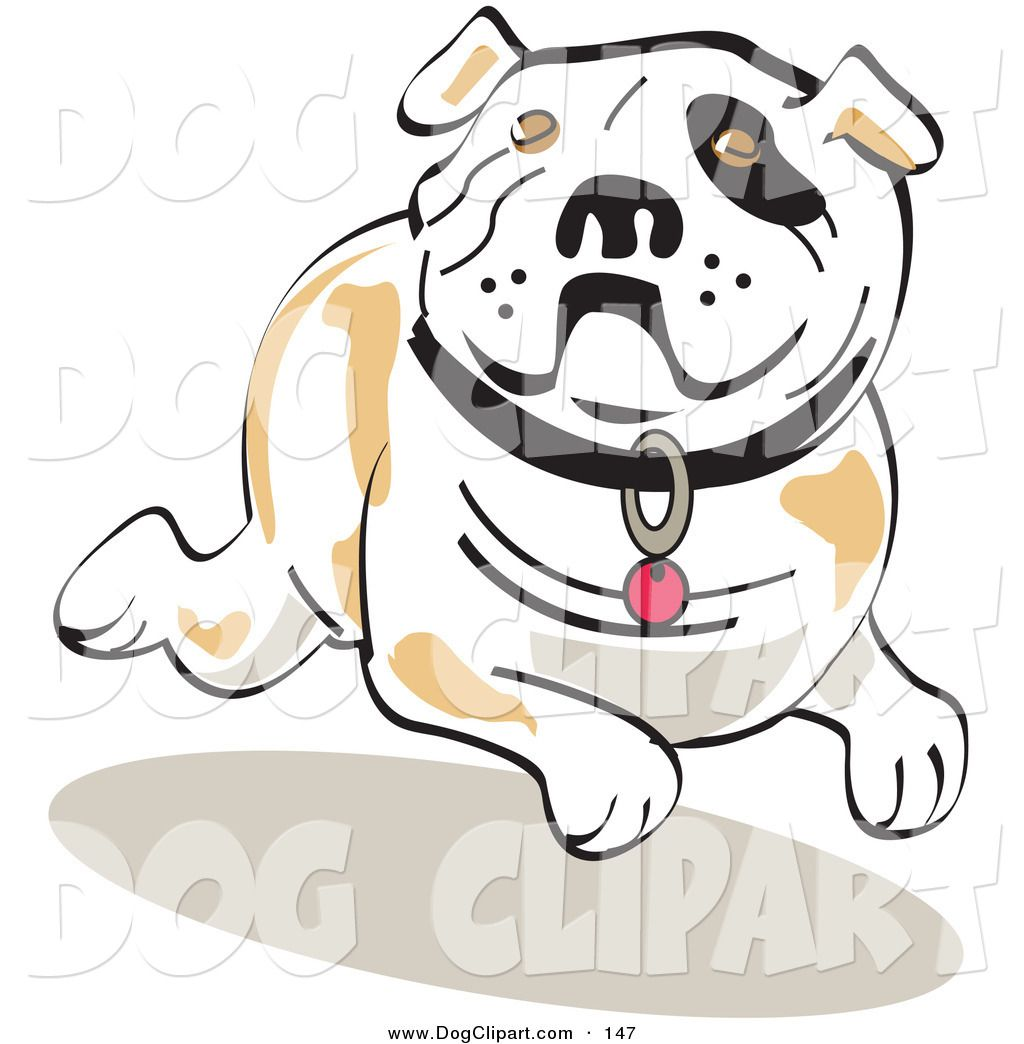 Shadows clipart bulldog Preview by Preview art With