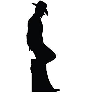 Shadows clipart cowboy Shadow Graphics Cardboard Standup Amazon