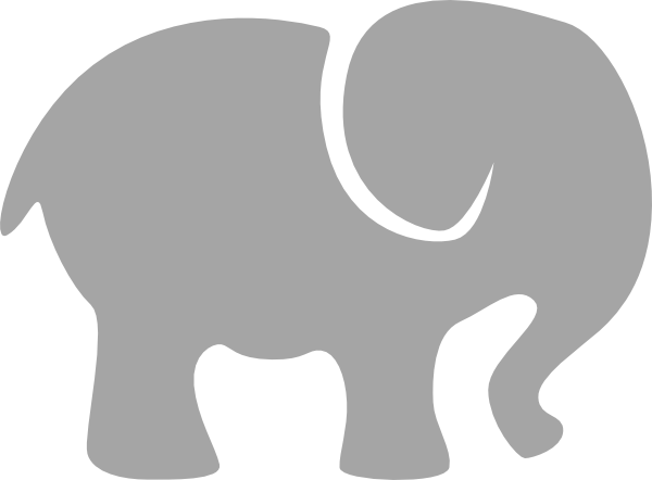 Paw clipart elephant Art art vector clip clip
