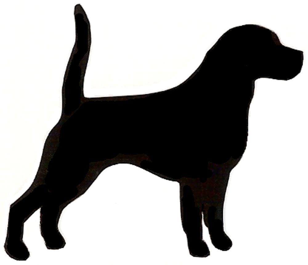 Shadows clipart hunting dog White BBCpersian7 clip silhouette Dog