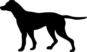 Shadows clipart hunting dog Clipart Canine canine%20clipart Panda Images