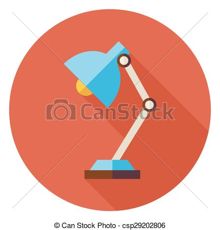 Shadows clipart lamp Lamp csp29202806 with Desk Desk