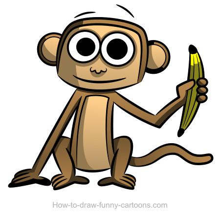 Shadows clipart monkey Drawings drawings Monkey (Sketching +