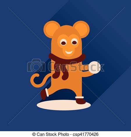 Shadows clipart monkey Illustration long csp41770426 long icon