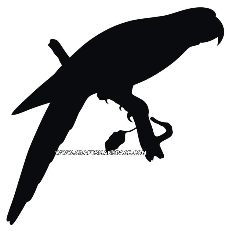 Shadows clipart parrot Hand silhouette This pattern patterns