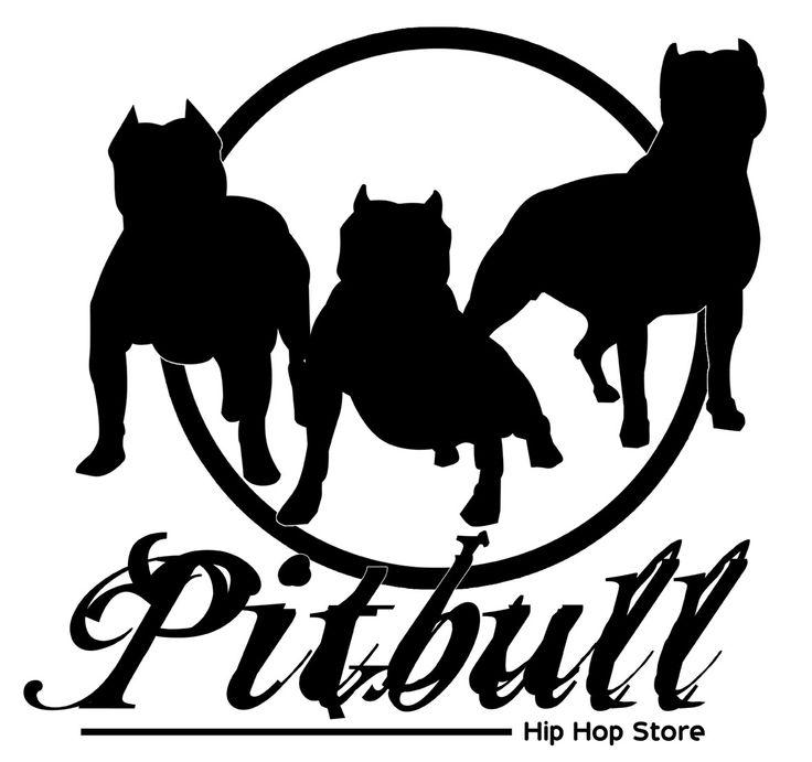 Pit Bull clipart black and white Disegni pitbull on free pitbulls