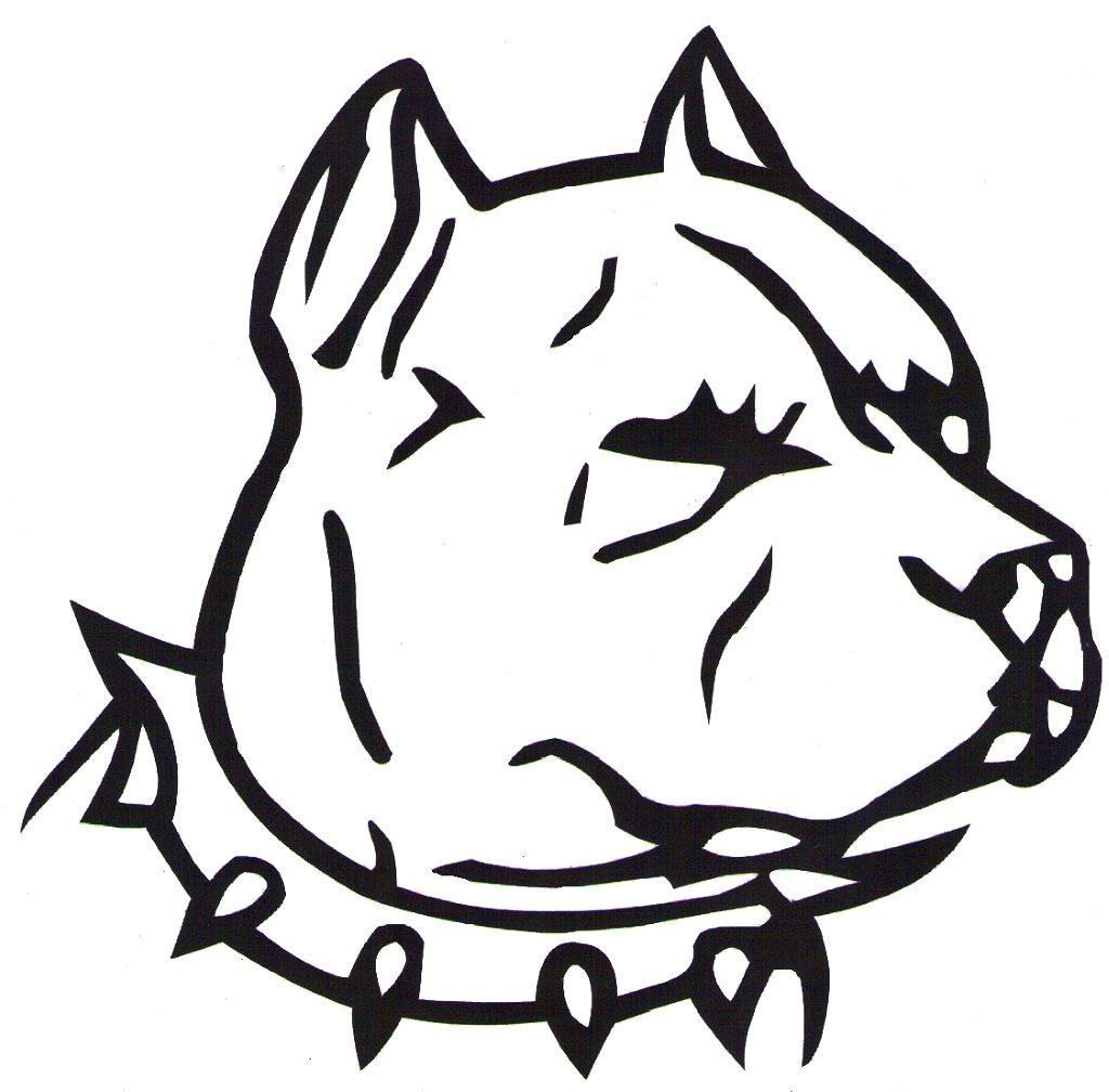 Pitbull clipart vicious dog Clipart Dog Cliparts 12+ Cliparts