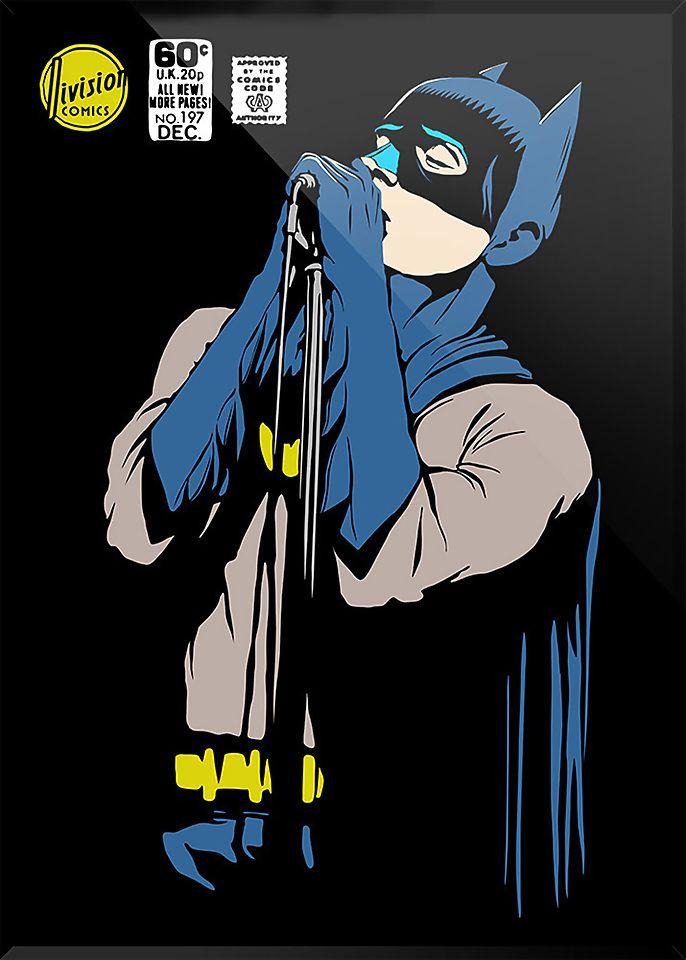 Shadows clipart singer 1 Affiche Post Bat Graphic