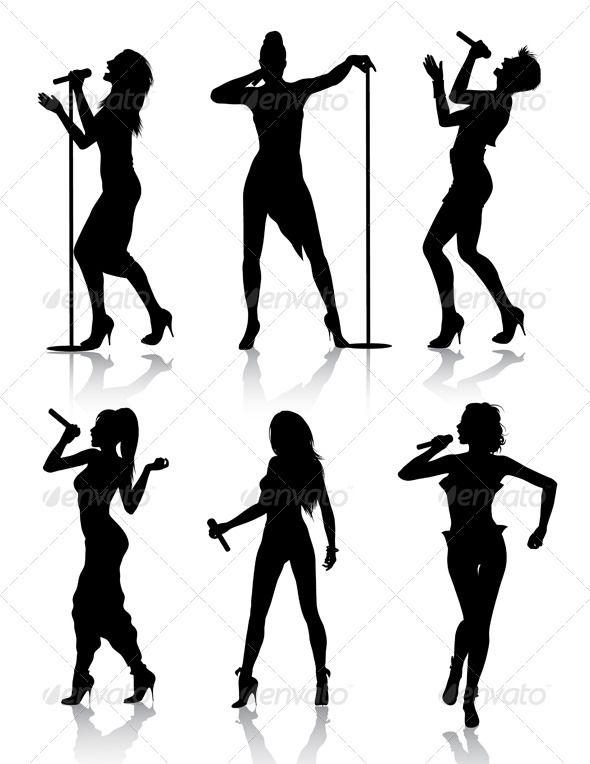 Shadows clipart singer – Clip Singer Clipart Clip