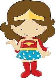 Shadows clipart superhero Negra herois Festa Resultado WomenSuperheroClassroom