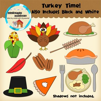 Shadows clipart turkey Papers School 11  images