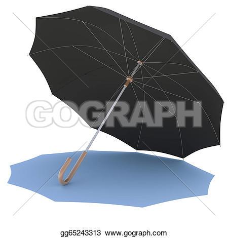Shadow clipart umbrella #15