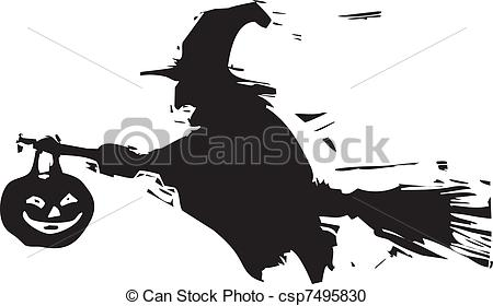 Shadows clipart witch Shadow Shadow Witch Vector Clipart
