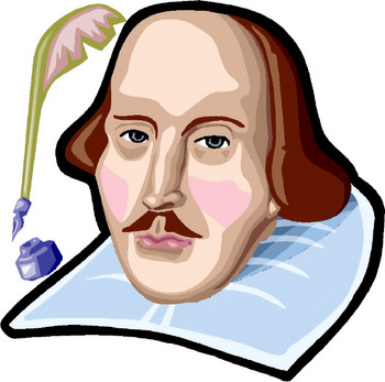 Shakespeare clipart Underwood for Some Story Shakespeare